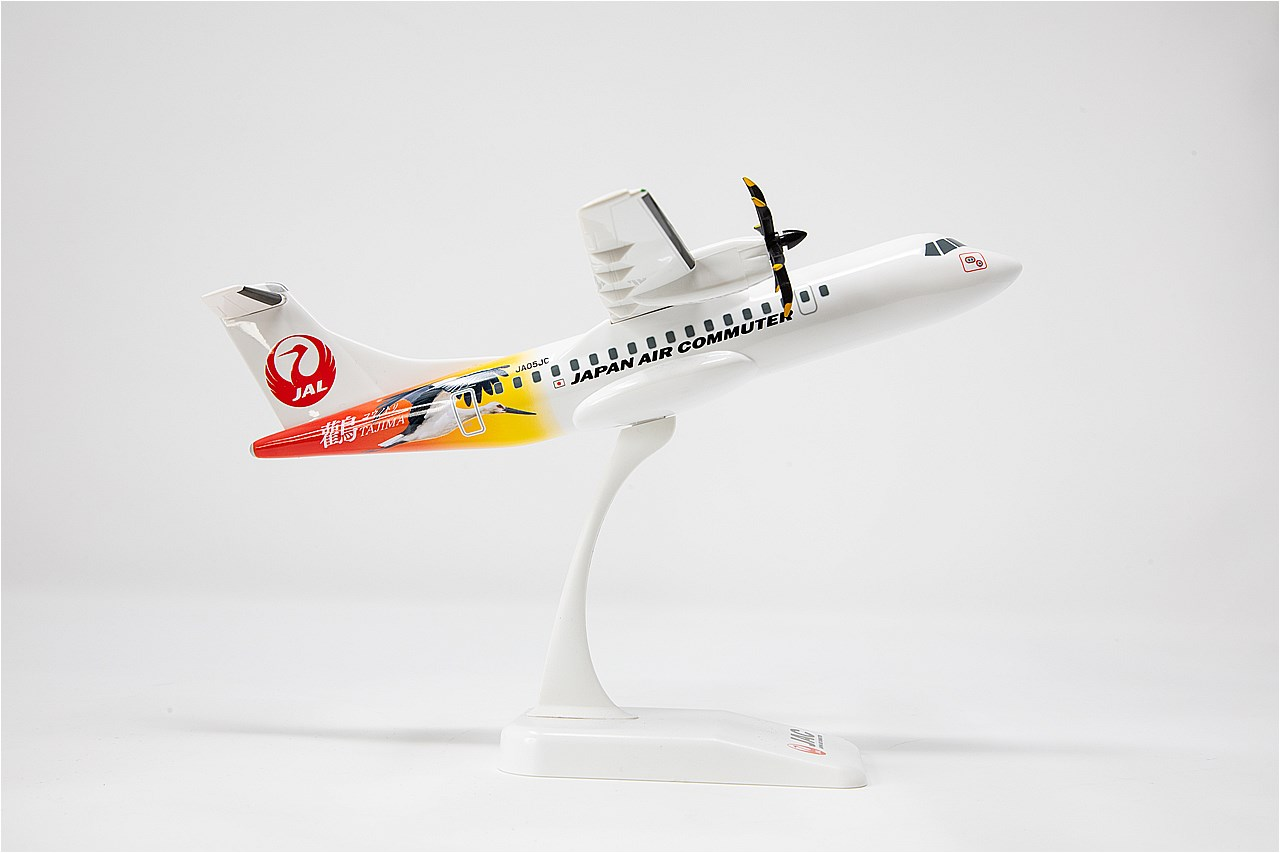 1/100スケール ATR42-600「コウノトリ号」モデルプレーン